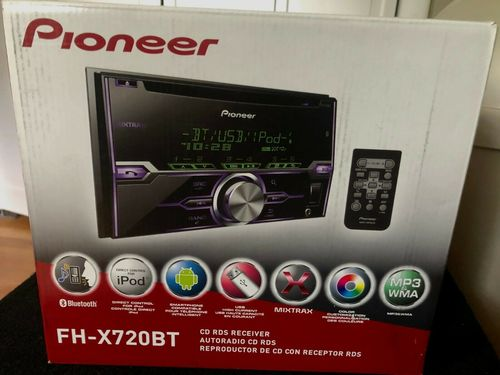 Bluetooth Radio In Dash Receiver With Box