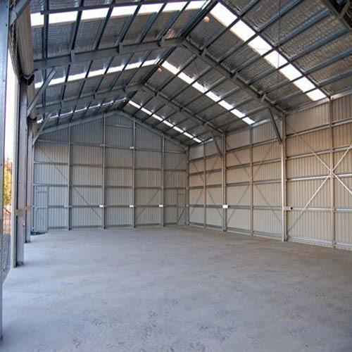Color Coated Prefabricated Shed
