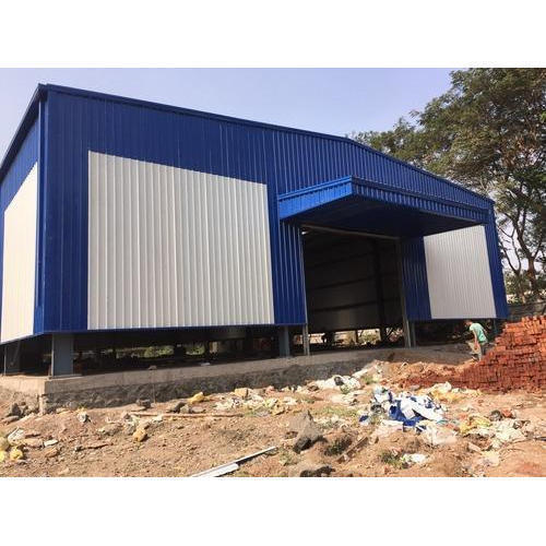Color Coated Prefabrication Shed