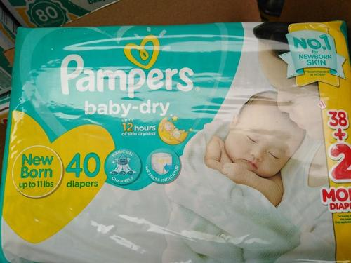 Disposable Baby Dry Baby Diapers (Pampers)