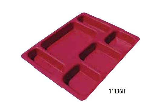 Finely Finished Fast Food Tray