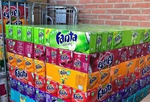 Flavoured Fanta Soft Drink