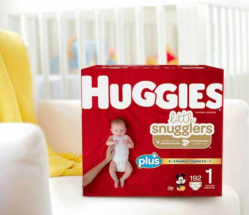 Huggies Little Snugglers Baby Diapers Size: Vary