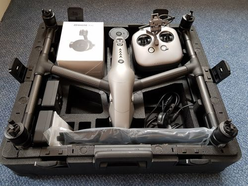 Inspire 2 Professional Combo Drone Camera (DJI)