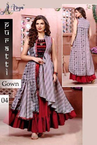 Ladies Stylish Look Gown