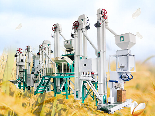 Mctp30 Complete Rice Mill Plant