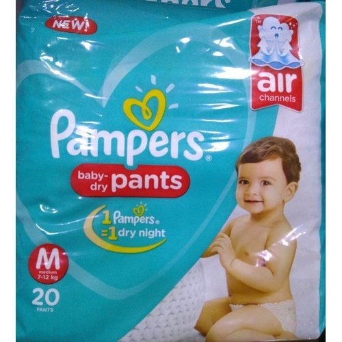 Pampers Medium Size Baby Diapers
