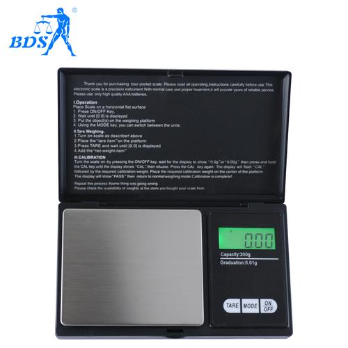 Portable Digital 0.01g Jewelry Scale