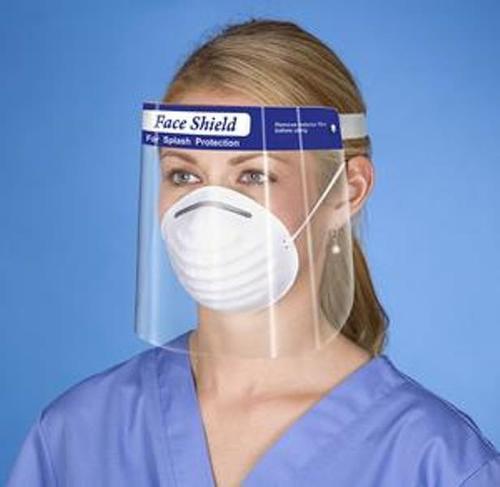Protective Plastic Face Shield