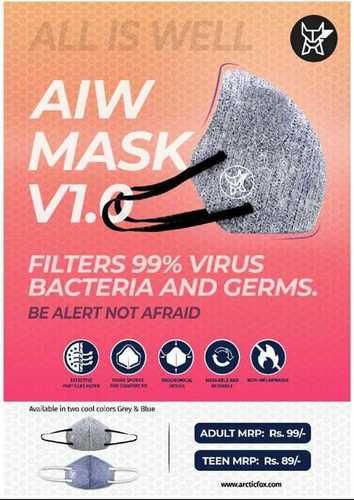 Reusable Personal Care Face Mask