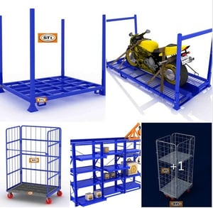 Roll Cage Container Trolley