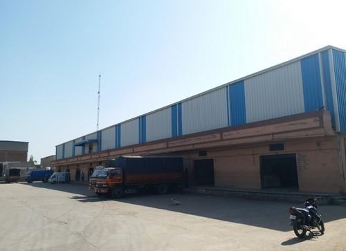 Steel Warehouse Logistics Park Shed