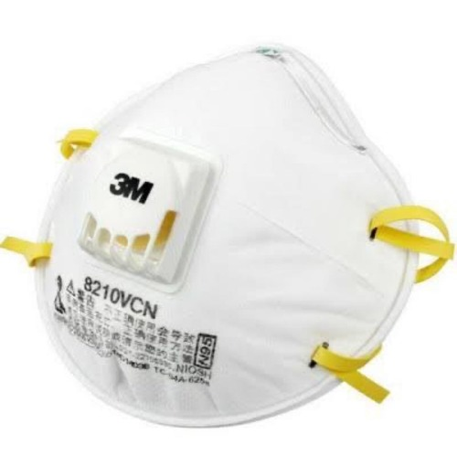 3M N95 Mask With Exhalation Vent Valve