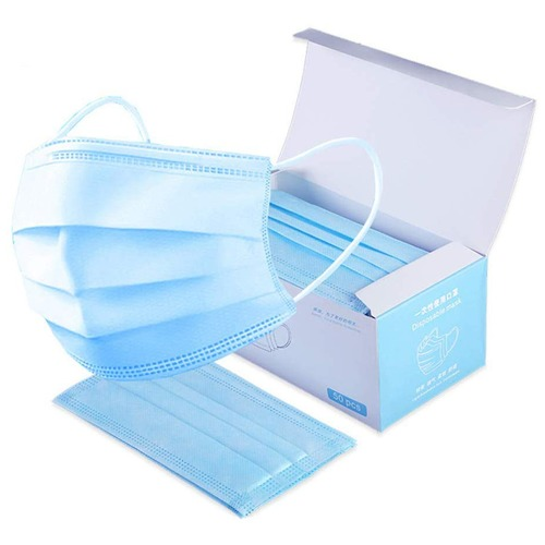 4 Ply Disposable Surgical Face Mask