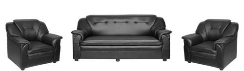 Black Eden Compact Sofa Set