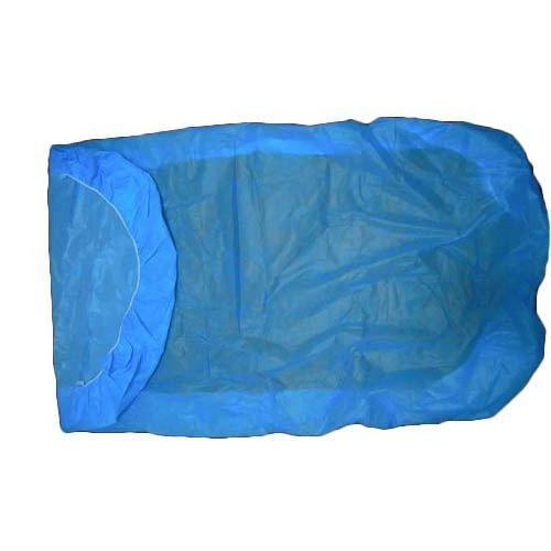 Blue Disposable Bed Sheet