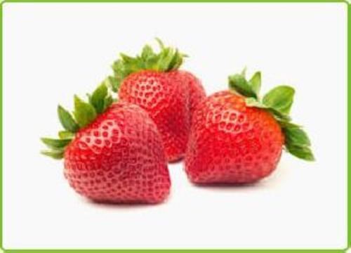Fresh Red Strawberry Fruits