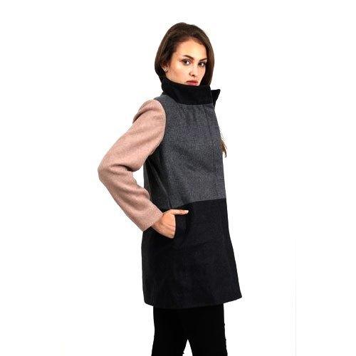 Ladies Melange Wool Jacket