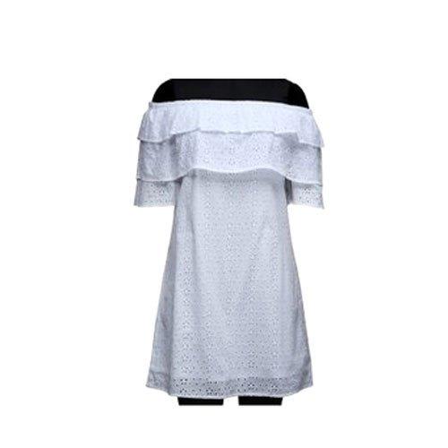 Ladies Off Shoulder Short Dress