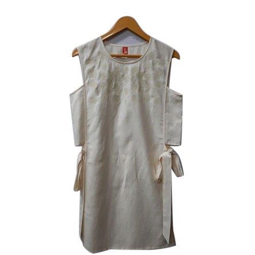 Ladies White Western Wear Size: XL