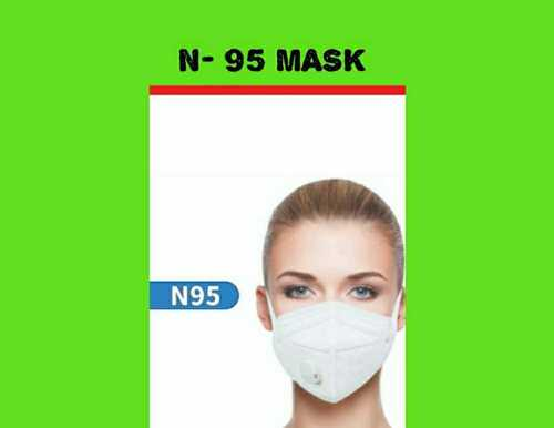 N95 Mask With Exhalation Vent Valve