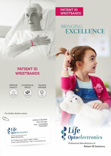 Patient Identification Wristbands ID