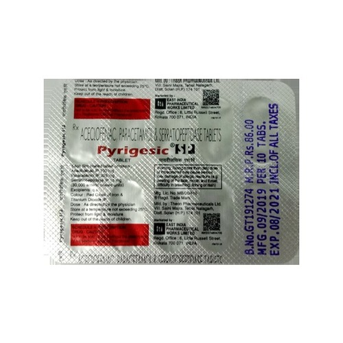 Pyrigesic SP Tablets
