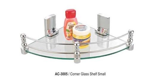 Small Corner Glass Shelf