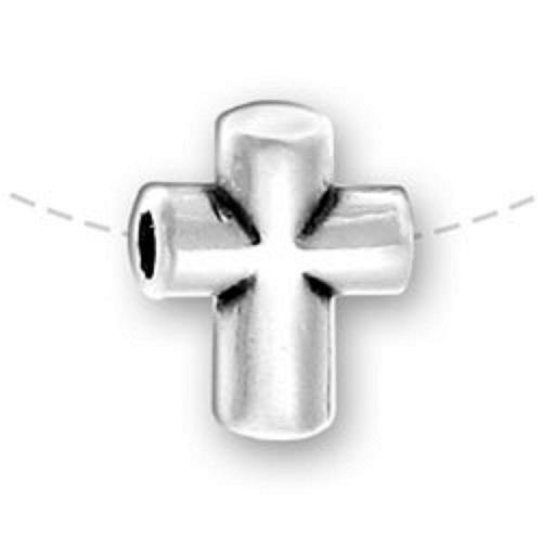 Sterling Silver Cross Beads