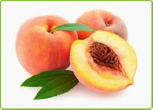 Yellow Fresh Peach Fruits