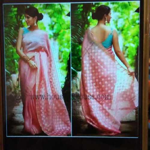 Bhagalpuri Handloom Silk Linen Saree