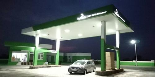 Bio Diesel Pump Canopy
