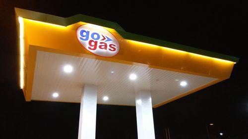 Customized GAS Pump Canopy