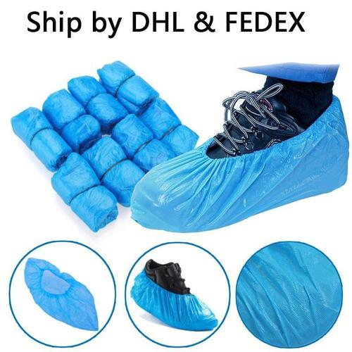 Disposable Waterproof Plastic PE Shoes Cover