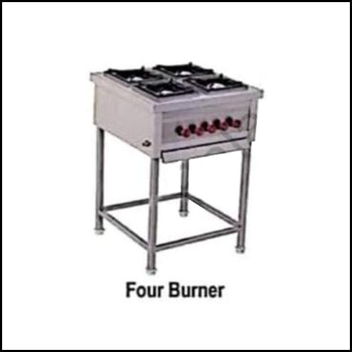 Four Burner Cooking Range