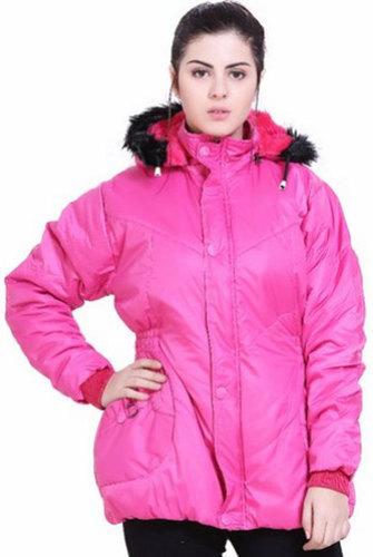 Ladies Full Sleeve Nylon Jacket