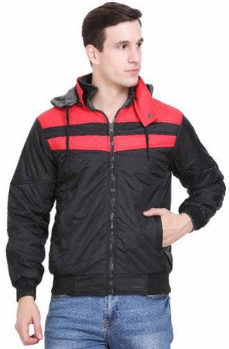Men Full Sleeve Nylon Jacket