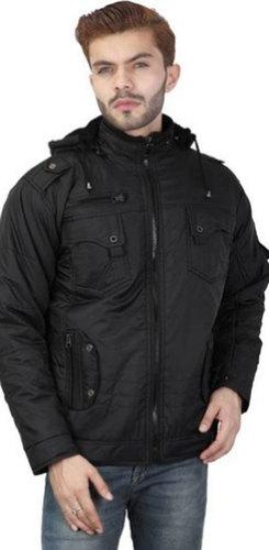 Mens Nylon Fur Jacket Size: Customized