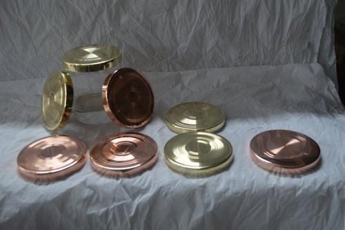 Metal Candle Jar Lid