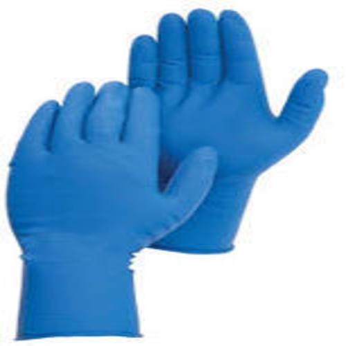 Non-Sterile Double Gloving Nitrile Glove Blue, Size: Medium
