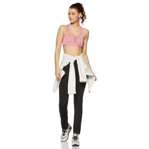 Polyester Spandex Jersey Black Sports Pants