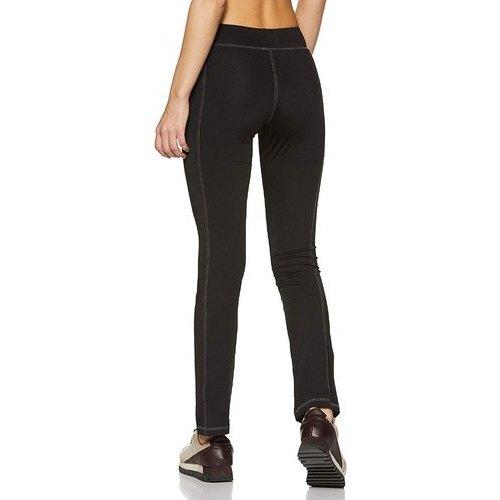 Slim Fit Black Sports Pants