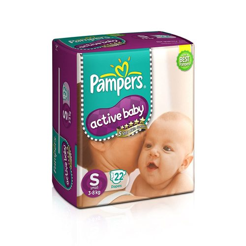 Small Size Active Baby Diaper