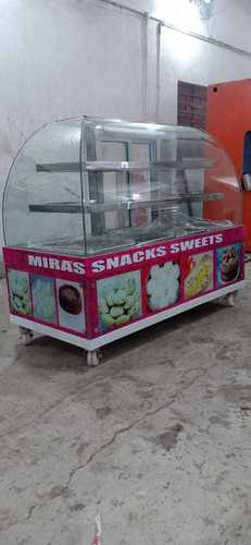 Snacks and Sweets Display Counter