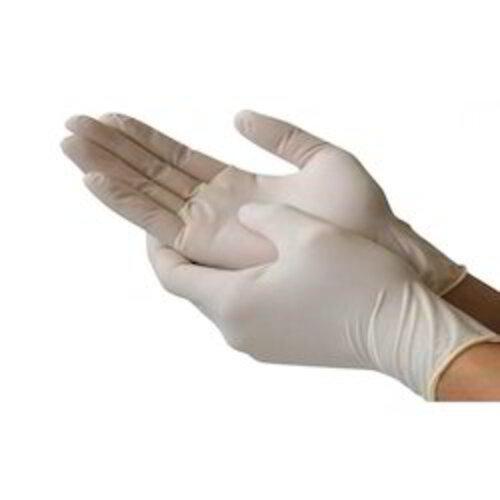 Surgi-Safe Blue, White Medical Examination Gloves