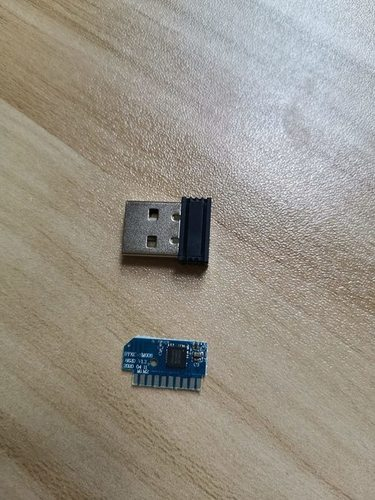Wireless Mouse Bluetooth RF Module Work