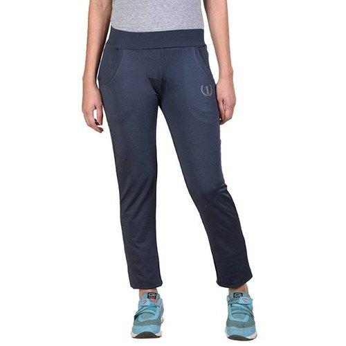 Women Polyester Spandex Jersey Track Pants