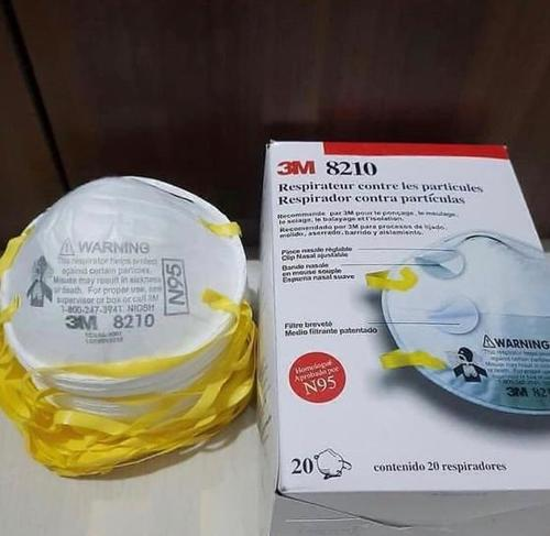 3M 8210, N95 Particulate Respirator Mask