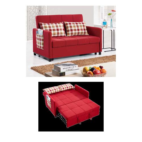 Attractive Fabric Sofa Cum Bed
