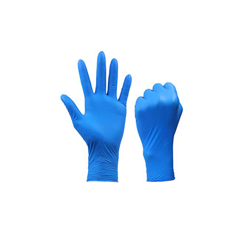 Blue Color Disposable Nitile Hand Glove